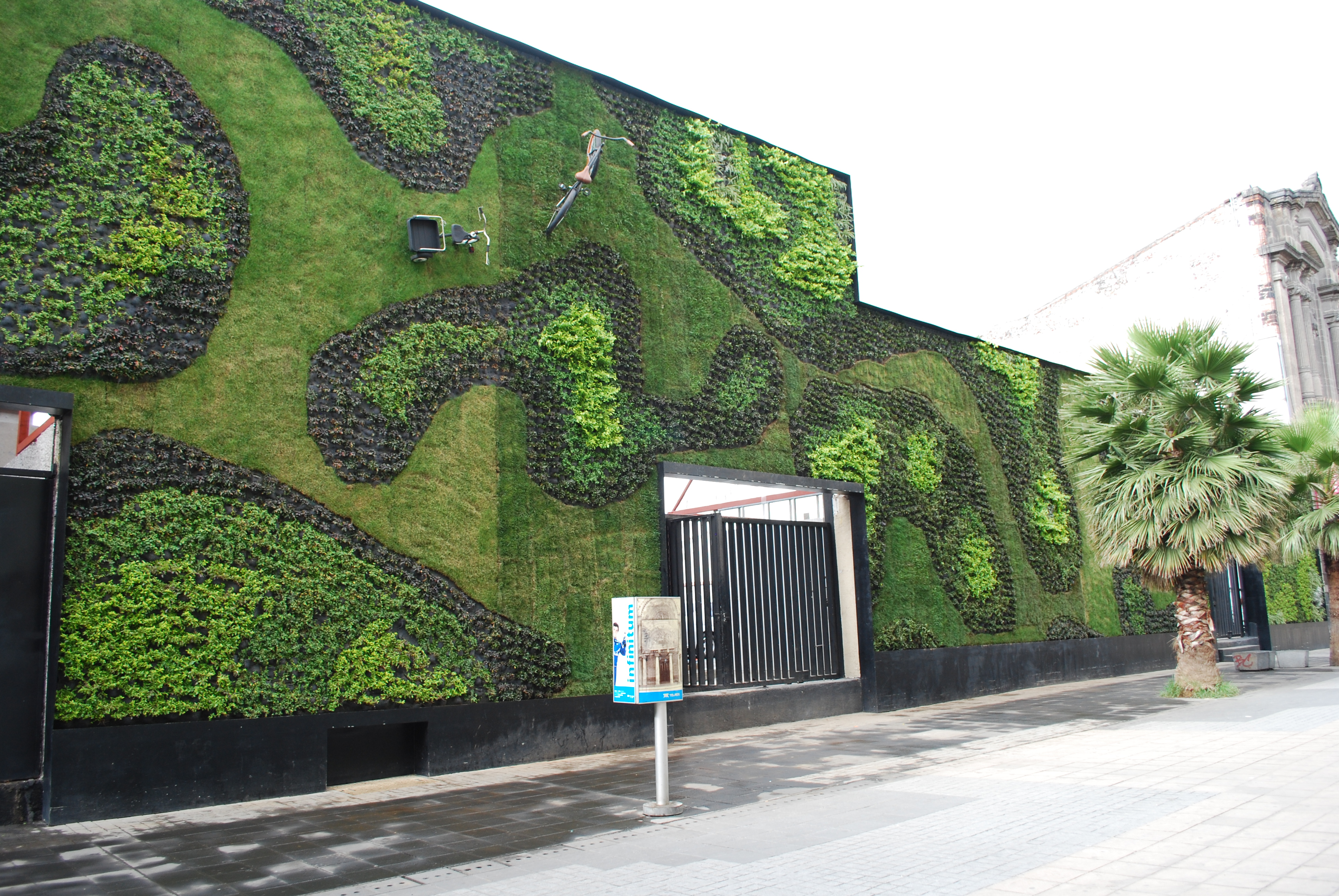 Green wall great parksgreat parks for Verde vertical jardines verticales